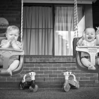 Abby & Aidan – Fraternal Twins