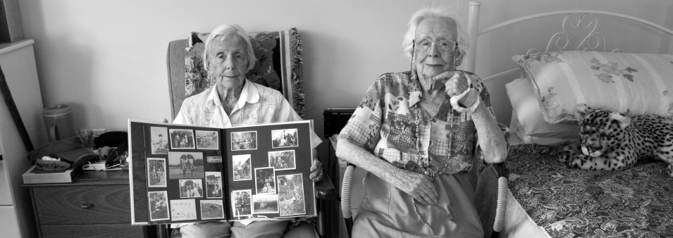 Identical Twins – Jean & Doris